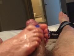 Footjob Thumb