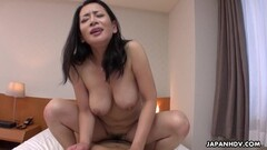 Naughty Rei Kitajima sucks cock, uncensored Thumb