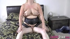 Hot British grandmother Lacey Starr pussy eaten Thumb