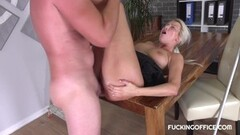 Horny Karol Lillen gets her pussy nailed Thumb