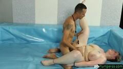 naughty SSBBW wrestler gets her pussy slammed Thumb