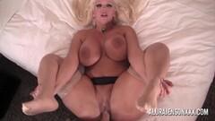 Cute blonde pornstar Alura Jenson gets fucked in POV Thumb