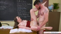 Cute Lexi Lovell pussy pounded in the classroom by her teacher Thumb