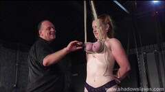 Hardcore breast bondage and tit torture of redhead amateur Fiona Thumb