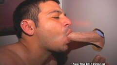 Horny honey gets cumshot on her face swallowing all the charg Thumb