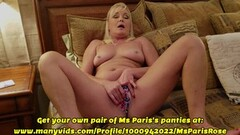 Naughty Ms Paris Shows Her Sold ManyVids Panty Preparation Thumb