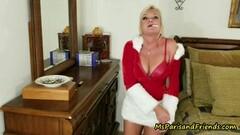Ms Paris Rose is Santa's Smoking Hot Sexy Helper Thumb