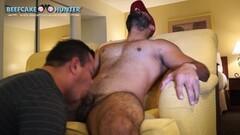 Worshipping sexy Arabic mans shaft Thumb