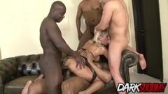 Cathy Inez anal interracial gangbang drilling Thumb