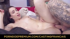 CASTING FRANCAIS - Canadian amateur banged in sexy audition Thumb