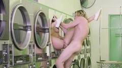 Hot Washing machine pussy fuck with Elena Koshka Thumb