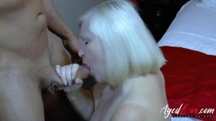 AgedLovE Handy Guy Seduced by Busty Mature Babe Thumb