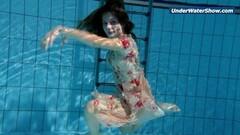 Sexy Slowmo teen in Czech swimming Thumb
