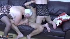 Mature amateurs share hard cock Thumb