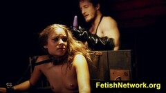 BDSM slave sex with hot horny babe Thumb