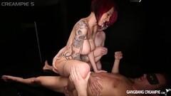 Amateur men Gangbanging Real Pornstars Thumb