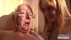 Old Grandpa likes to fuck girls pussy Thumb