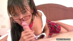 Naughty Thai schoolgirl getting freaky in a pov video Thumb