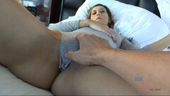 Sexy date gets a cream pie Thumb