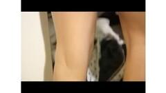 Ebony girl masturbates in the webcam Thumb