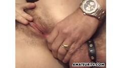 Teen girl makes quickie blowjob and swallows throbbing cum - pulsating cim Thumb