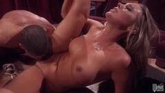 Julia Dranac Hot MILF in Thigh High Stockings & High Heels Thumb