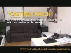 FakeAgent Blue eyed beauty gives sexual massage Thumb