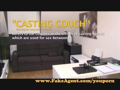 FakeAgent Hot amateur tries anal in Casting Thumb