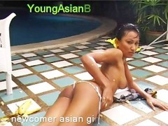 Asian Norlina sexy carwash Thumb
