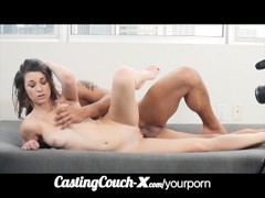 CastingCouch-X Cali coed tries porn first time vid Thumb