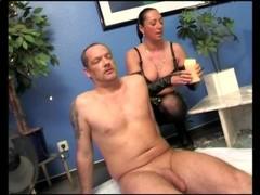 Hot dominatrix loves using wax - SMALL TALK Thumb