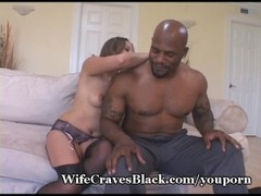White Wifey Explores Black Cock Surprise Thumb