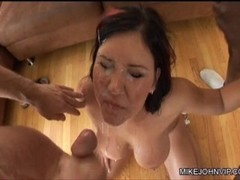 Lusty Lady Facial Cumshot Compilation Thumb