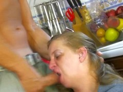 Chubby fuck in the kitchen - Kemaco Studio Thumb