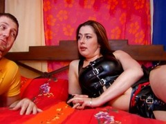 French milf in leather getting fucked - Kemaco Studio Thumb