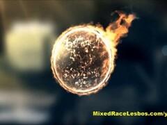 Hot Ebony fucked in the bathroom - Kemaco Studio Thumb