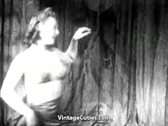 Young Lady Gives a Burlesque Dance Thumb