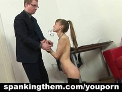 The punishment for skinny secretary Thumb