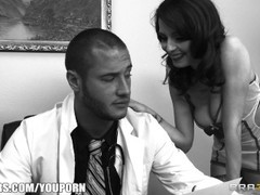 Breast exam expert loves to fuck his clients and his assitant Thumb