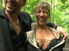 Shanaelle a mature anal fucked in the woods Thumb