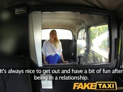 FakeTaxi Red hot blonde with cracking body on taxi bonnet Thumb