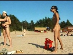 Hot teen nudists make this nude beach even hotter Thumb