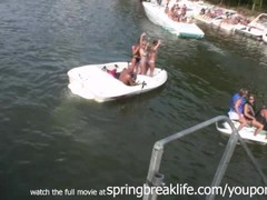 Girls Flashing on the Lake Thumb