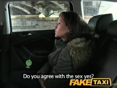 FakeTaxi 18 years old and sucking taxi cock Thumb