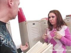 Leony Aprill bare feet show off Thumb