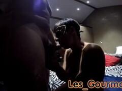 big ass in see through lycra leggings Thumb