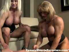 Ashlee, WildKat, and Alura - 4-Way Fun Thumb