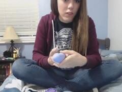Stiletto girl Jenna walks sexually wearing erotic pair of high heel shoes Thumb