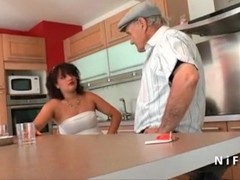Young french arab bbw fucked by an old man Thumb