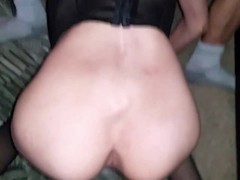 wife sucks stranger while I fuck her from behind Thumb